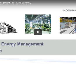 Facility Energy Management -- Executive Summary