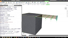 Degrees of Freedom – Mixing Solid, Shell and Line Elements in Nastran In-CAD