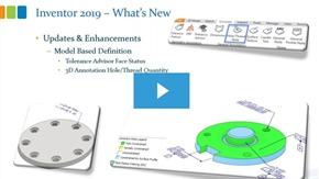 Inventor 2019: Newest Features and Functions